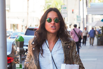 Michelle Rodriguez Michelle Rodriguez Runs Errands in Los Angeles
