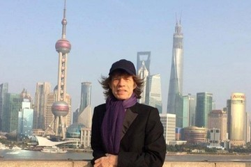 Mick Jagger Celebrity Social Media Pics