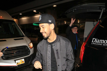 Mike Shinoda Celebrities Arrive for the Sundance Film Festival at Salt Lake City Airport