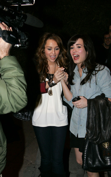 selena gomez and demi lovato and miley. Demi Lovato and Miley Cyrus