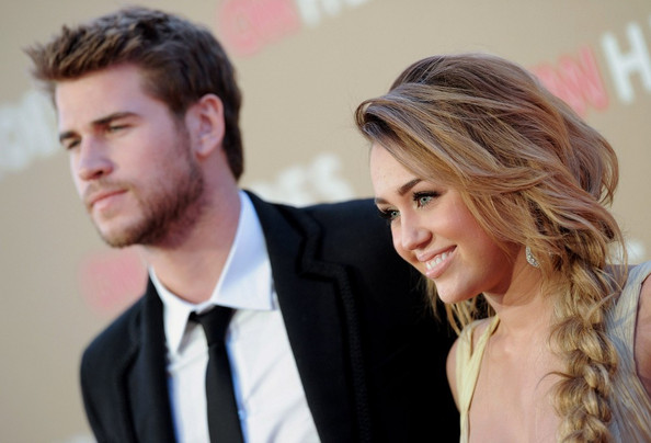 Miley Cyrus and Liam Hemsworth - 2011 CNN Heroes