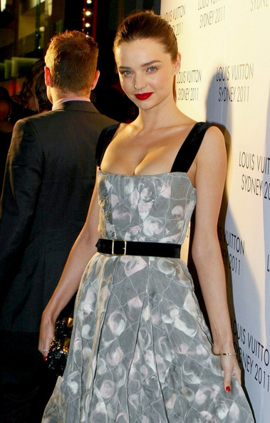 Miranda Kerr The Louis Vuitton Maison Reception celebrating the new opening George Street  boutique.