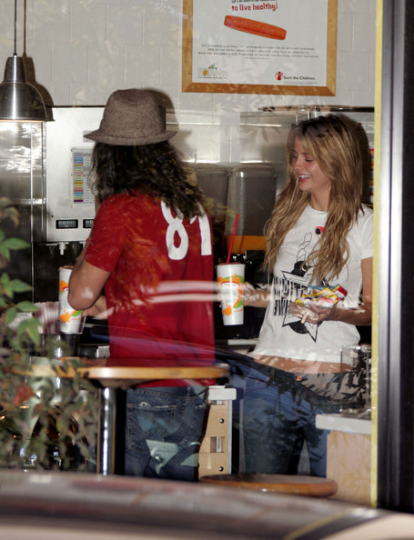 Mischa Barton and Cisco Adler Out and About []