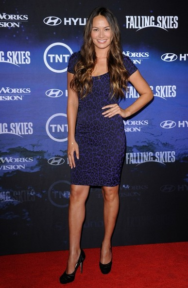 "Moon Bloodgood Premiere Screening of ""Falling Skies"".Pacific Design Center, West Hollywood, CA."
