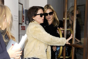 Kate Moss Sadie Frost Kate Moss and Sadie Frost Out and About