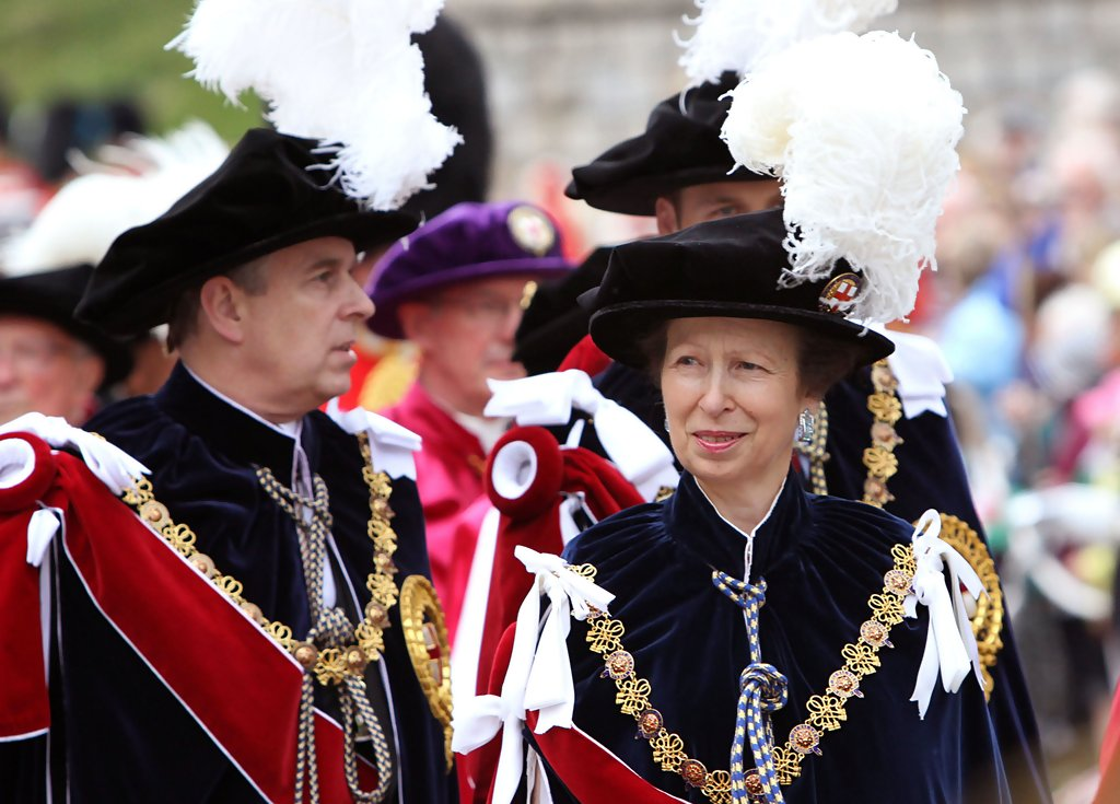 Princess anne photos photos most noble order of the garter zimbio for Olive garden never ending classics prices