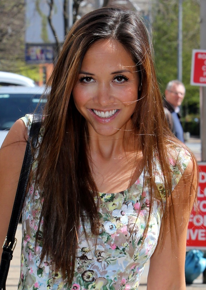 Myleene Klass at the London Studios - Pictures