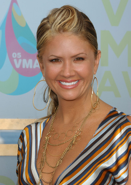 Nancy O'Dell - 2005 MTV Video Music Awards - Arrivals