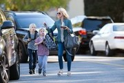 Naomi Watts Out with Her Kids