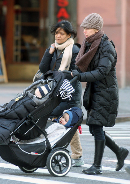 Naomi Watts Walks with Her Sons