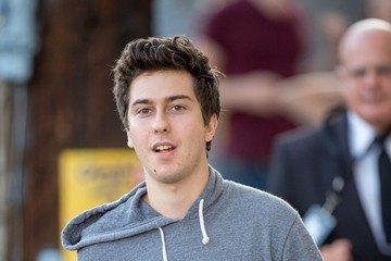 Nat Wolff Nat Wolff and Alex Wolff Arrive at 'Jimmy Kimmel Live!'