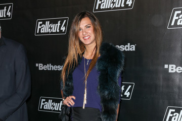 Natalie Burn Celebrities Arrive at the 'Fallout 4' Launch Party