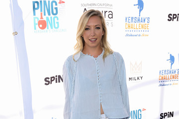 Natasha Barritt Clayton Kershaw's 4th Annual Ping Pong 4 Purpose Celebrity Tournament at Dodger Stadium