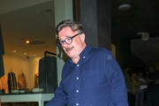 Nathan Lane is seen in Los Angeles, California.