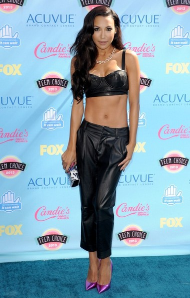 ����� Naya Rivera 2014 ����� Naya Rivera Arrivals Teen Choice Awards Tnu30Djwg9Fl.jpg