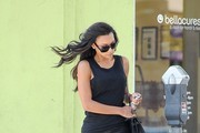 Naya Rivera in black