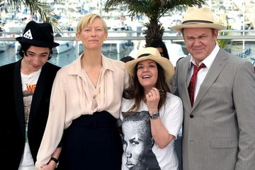 Tilda Swinton John C. Reilly 'We Need to Talk About Kevin' photocall