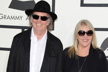 Neil Young Arrivals at the Grammy Awards