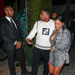 Nelly Nelly Outside Delilah Nightclub In West Hollywood