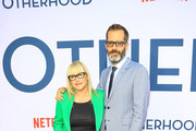 Patricia Arquette and Eric White are seen attending the Netflix Premiere of 'Otherhood' at the Egyptian Theater in Los Angeles, California.