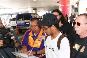 Neymar Neymar Spotted at LAX