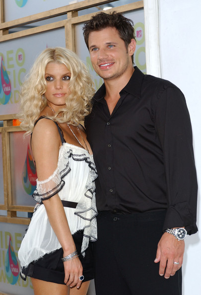 Jessica Simpson and nick lachey  Just