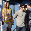 Nick Jonas and Delta Goodrem Photos