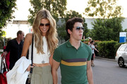 Nick Jonas and Delta Goodrem Photos Photo
