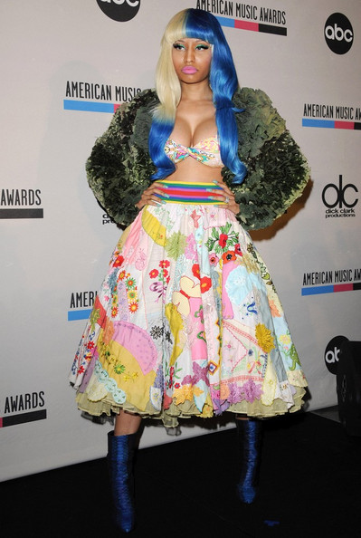 Nicki Minaj 2011 American Music Awards - Nominations.JW Marriott Los Angeles at L.A. Live, Los Angeles, CA.October 11, 2011.