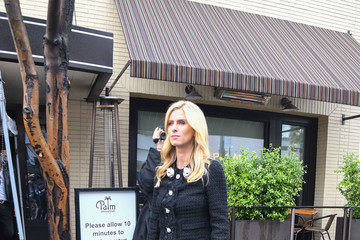 Nicky Hilton Rothschild Nicky Hilton Rothschild Is Seen At Palm Restaurant