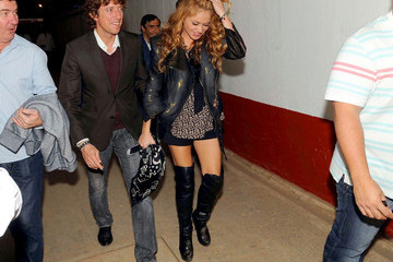 Nicolas Vallejo Najera Paulina Rubio at a Bullfight