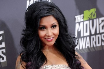 Nicole Polizzi Arrivals at the MTV Movie Awards