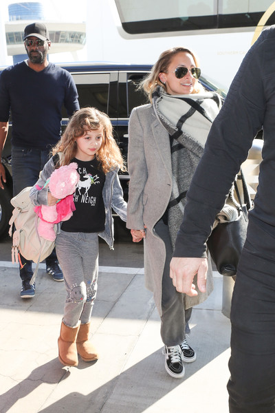 Nicole Richie and Daughter Harlow Are Seen at LAX []
