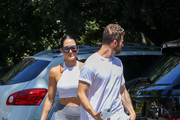 Nikki Bella and Artem Chigvintsev day out