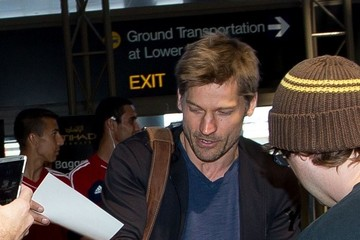 Nikolaj Coster-Waldau Nikolaj Coster Waldau Arrives at LAX