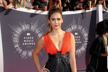 Nina Dobrev Arrivals at the MTV Video Music Awards