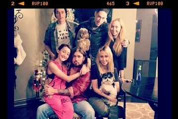 Miley Cyrus Family 2014