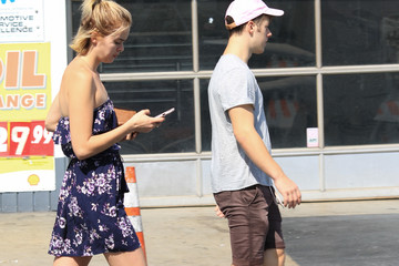 Nolan Gould Hannah Glasby and Nolan Gould Out in Los Angeles