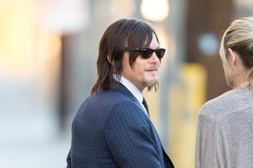 Norman Reedus Norman Reedus Heads to 'Jimmy Kimmel Live!'