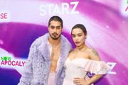 Avan Jogia and Cleopatra Coleman are seen attending Now Apocalypse Premiere at Hollywood Palladium in Los Angeles, California.