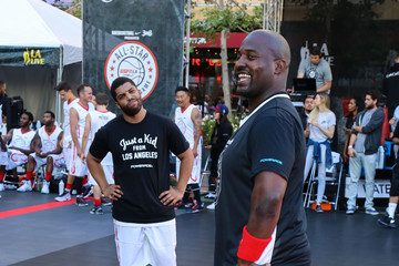 O'Shea Jackson Celebrities Attend the 8th Annual Nike Basketball 3ON3 Tournament at Microsoft Square