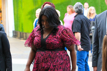 Octavia Spencer Celebrity Sightings at The Grove