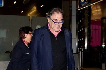 Oliver Stone Oliver Stone at LAX