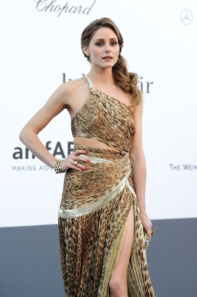 Olivia Palermo - Celebs Attend the amFAR Event in Cannes