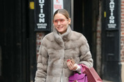 Olivia Palermo is seen in New York City.