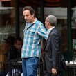 Olivier Sarkozy Mary Kate and Ashley Olsen Grab Some Food