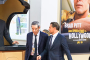 Leonardo DiCaprio is seen attending Sony Pictures' 'Once Upon a Time in Hollywood' Los Angeles Premiere in Los Angeles, California.
