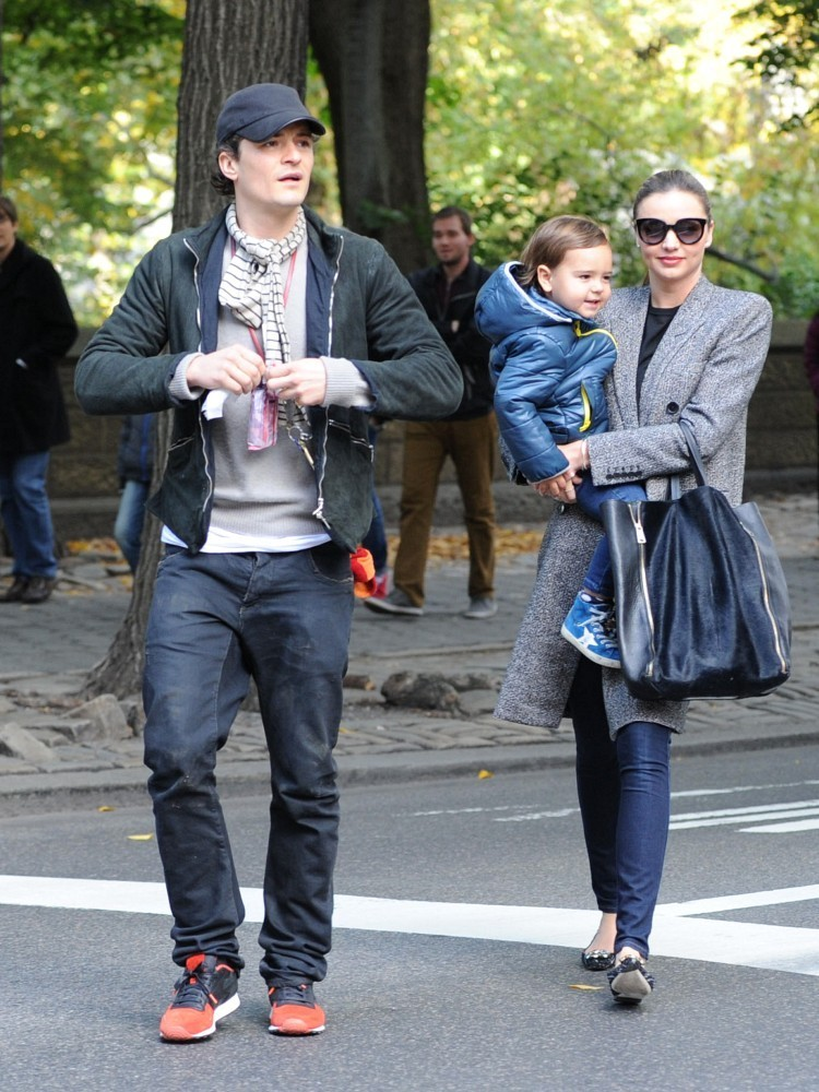 Orlando Bloom and Miranda Kerr Step Out Together