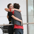 Orlando Bloom and Miranda Kerr Are Happy to See Each Other