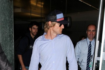 Owen Wilson Owen Wilson Arrives at LAX